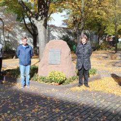 Gedenken an die Deportation der Juden in Untergrombach am 22.10.1940